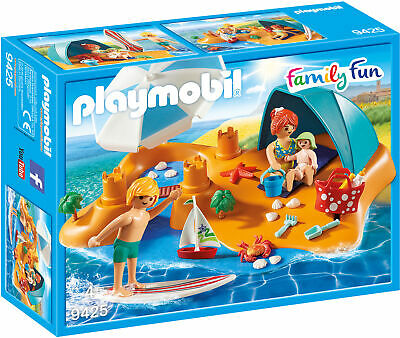 Playmobil Family at the Beach Family Fun Suitable for