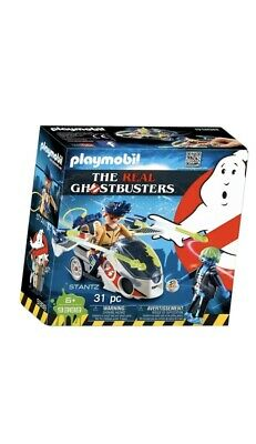 Playmobil  Ghostbusters Stantz with Skybike Figures