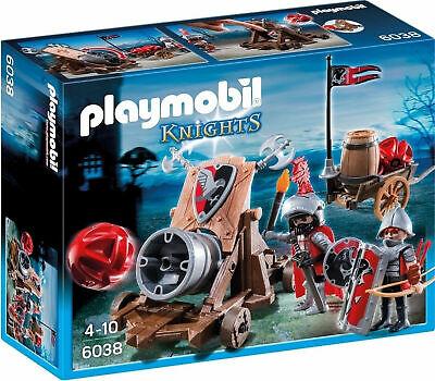 Playmobil Hawk Knights' Battle Cannon Playset &