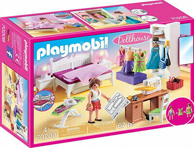 Playmobil  Sleeping Room with Sewing Corner - New .
