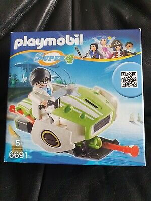 Playmobil Super 4 Technopolis Chameleon Jet Brand New In Box