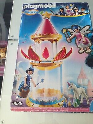 Playmobil  Super4 Tower Flower Magic with Box Musical
