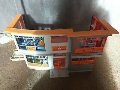 Playmobil childrens Hospital Furnished City Life  not