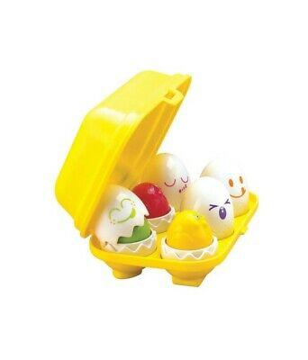TOMY  Hide N Squeak Eggs Play to Learn Baby Toddler Toy