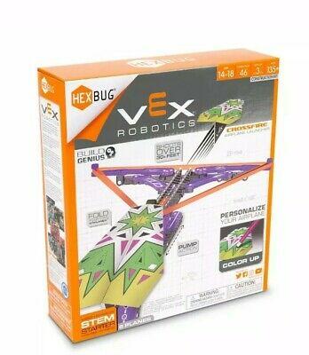VEX Robotics Crossfire Paper Airplane Launcher Kit by HEXBUG