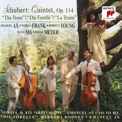 Yo-yo Ma - Trout Quintet; Arpeggione Sonata; Die Forelle CD