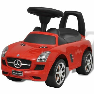 vidaXL Mercedes Benz Foot-Powered Kids Car Red Children
