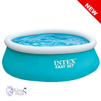 6ft x 20in Intex Easy Set Inflatable Swimming Pool great fun