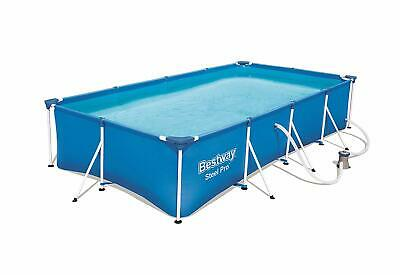 Bestway Steel Pro Frame 13ft x7ft Large Family Swimming Pool