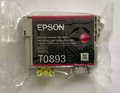 Epson T Genuine Magenta Ink Cartridge, new and sealed,