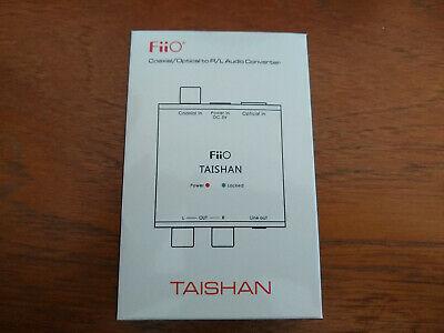 FiiO D03K Taishan Coaxial Optical Digital To Analogue R/L
