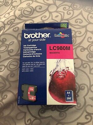 Genuine Brother Ink Cartridge - LC980M MAGENTA / DCP-145C