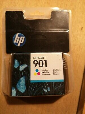 Genuine HP 901 Tri-Colour Printer Ink Cartridge OfficeJet