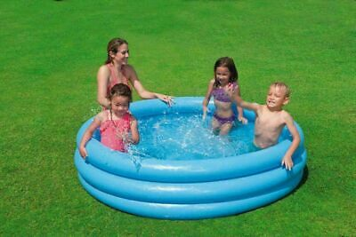 INTEX CRYSTAL BLUE SWIMMING POOL OUTDOOR KIDS SUMMER GARDEN