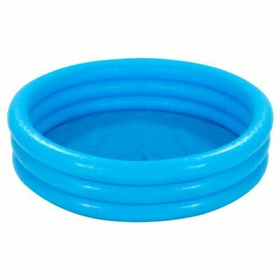 "Intex Crystal Blue Three Ring Inflatable Paddling Pool 58"" x"