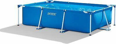 Intex  Metal Frame Rectangular Swimming Pool 300 x 200