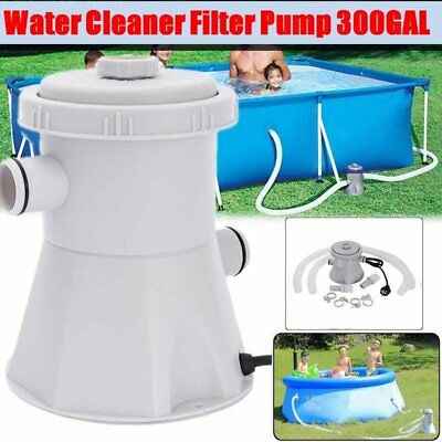 V Summer Waves Swimming Pool Filter Pump For Above