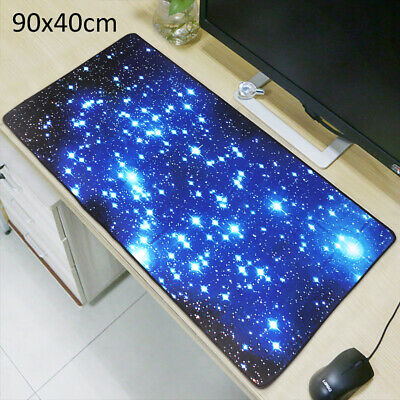 Extra Large Galaxy Gaming Mouse Pad Mat for PC Laptop