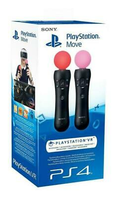 SONY PLAYSTATION PS4 Move Controller Twin Pack V2 PSVR PS VR