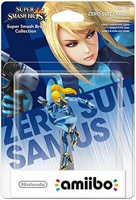 Zero Suit Samus No.40 amiibo (Nintendo Wii U/3DS) (New) -