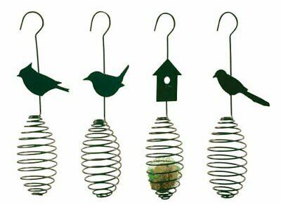 Esschert Design Futterfeder, Vogelfutter-Sp irale, Halterung