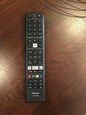 Genuine Toshiba CT / CT- TV Remote Control