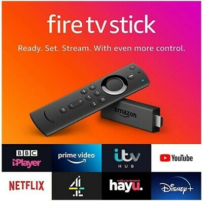 NEW Amazon Fire TV Stick (2nd Generation) with Alexa