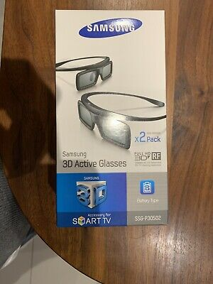 SAMSUNG SMART TV ACTIVE 3D GLASSES X 2 PAIRS SSG-P