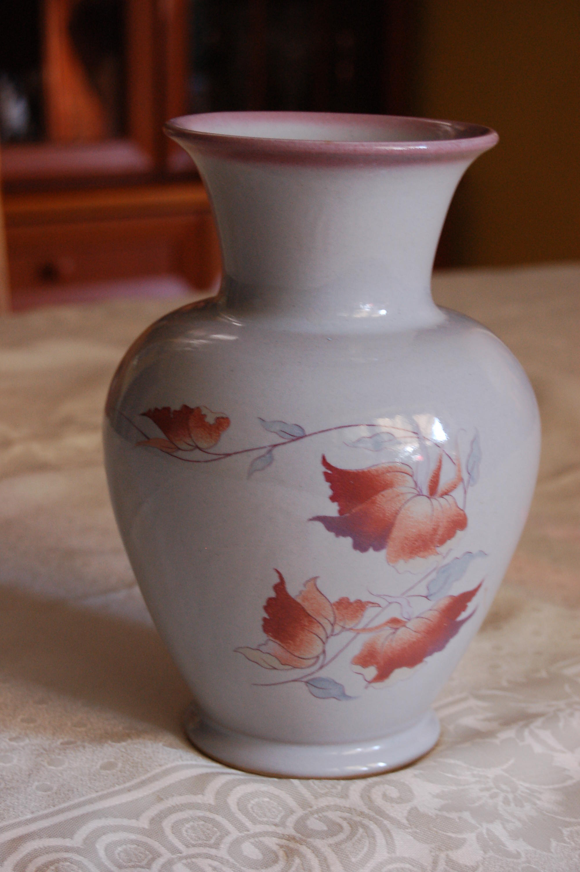 Lovely Denby Twilight Vase, in Perfect Condition & Antique