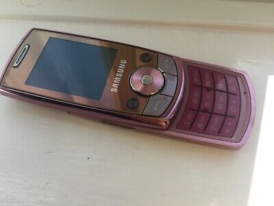Samsung SGH J700 - Pink (Unlocked) Mobile Phone. Used but