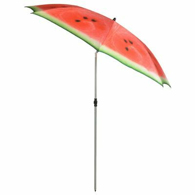 Esschert Design Parasol Watermelon 184 cm Red and Green
