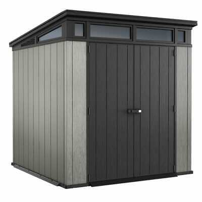 Keter Garden Storage Shed Artisan 77 Outdoor Patio Pent Tool