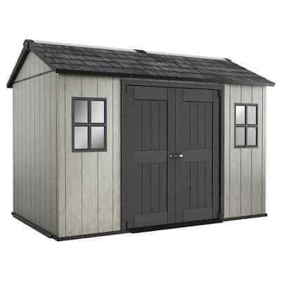 Keter Garden Storage Shed Oakland  Outdoor Patio Pent