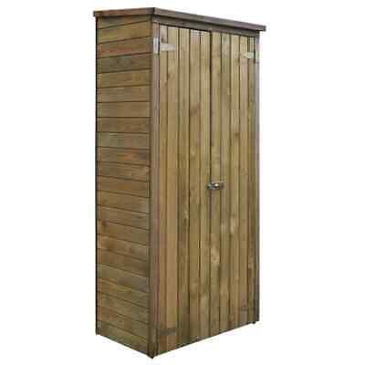 vidaXL Garden Tool Storage Shed Pinewood 85x48x177cm Outdoor
