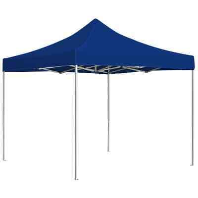 vidaXL Professional Folding Party Tent Aluminium 3x3m Blue