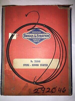Briggs and Stratton Rewind Starter Spring NOS/OEM #