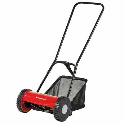 Einhell Hand Push Lawn Mower Garden Grass Cutter 30cm