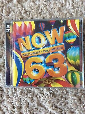 Now That's What I Call Music! 63 By Various Artists Now! 63