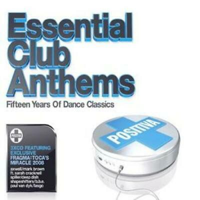 Various Artists: Positiva Presents Essential Club Anthems CD