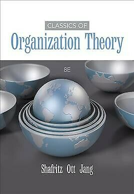 Classics of Organization Theory, Paperback by Shafritz, Jay