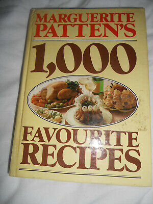 Favourite Recipes by Patten, Marguerite Hardback Book,
