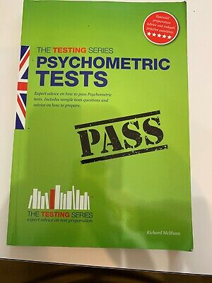 Psychometric Tests (the Ultimate Guide) by Richard McMunn
