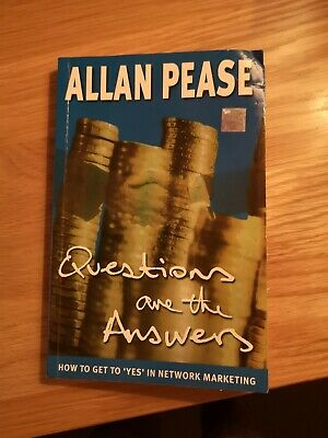 Questions are the Answers by Allan Pease Paperback Book The