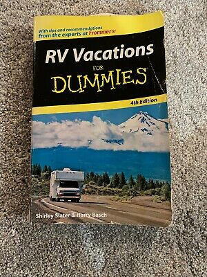 RV Vacations for Dummies by Harry Basch, Shirley Slater