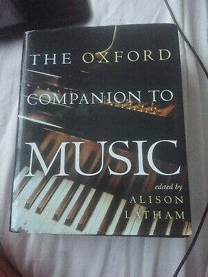 The Oxford Companion to Music by Oxford University Press