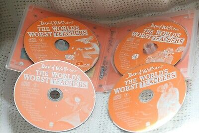 The World's Worst Teachers by David Walliams 4 x CD Audio