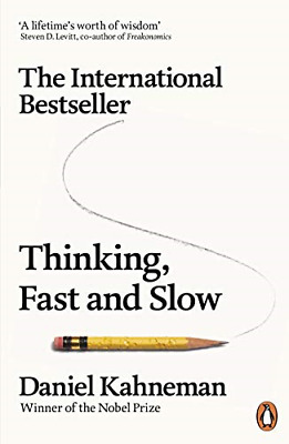 Thinking, Fast and Slow, Kahneman, Daniel, Good Condition