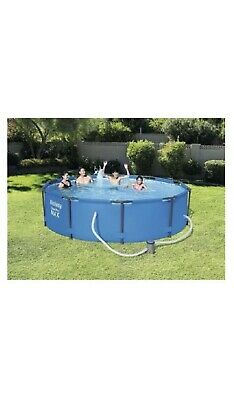 12ft x 30inch Bestway Steel Pro Frame Swimming Pool, Filter