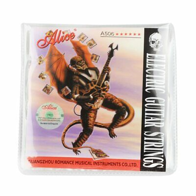 Alice Electric Guitar Strings 008 to 038 inch Plated Steel