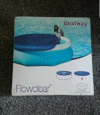 Bestway 10ft Fast Set Swimming POOL COVER! BNIB